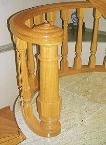 Arranque escalera modelo Ensaimada C