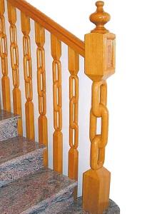 Arranque para escalera modelo Cadenas