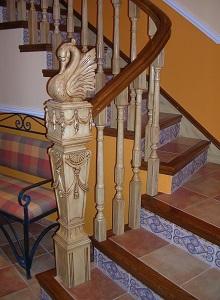 Arranque especial para escalera modelo cisne