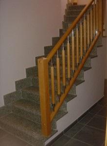 Barandilla escalera estilo castellano