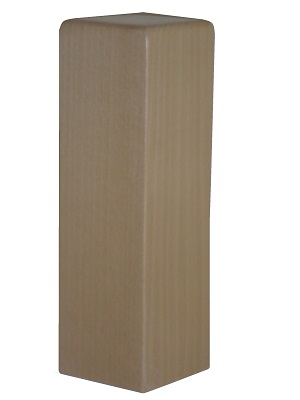 Cabeza de Pilastra forma cuadrada achaflanada