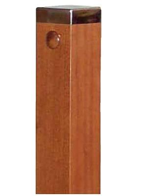 Cabeza de Pilastra con gorro metálico