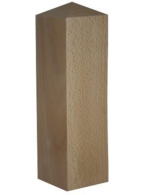 Cabeza de pilastra forma pirámide